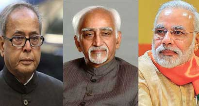 modi-and-pranab-and-ansari