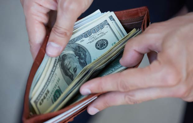 Wallet--purse-with-money-